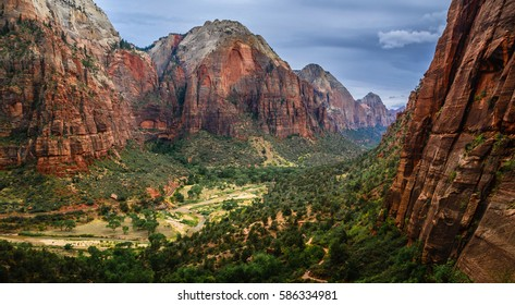 Zion National park Utah USA UNESCO