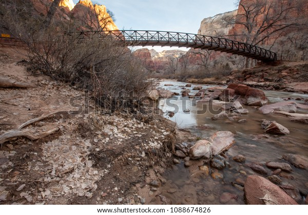Zion National Park in the Winter