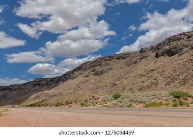 Zion Park Scenic Byway (UT-9) between Virgin and  Rockville Washington county, Utah