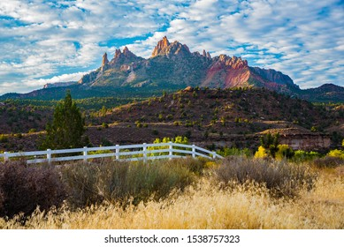 Zions National Park in the Fall.  Zions National Park is magnificent all year long, but Autumn in the park is a special experience.