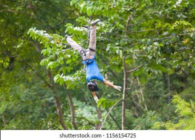 Zipline adventure, Chiang mai, Thailand