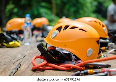 zip-line helmet