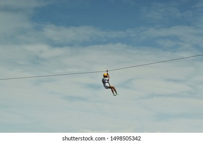 The zip-line Jungle File activity is a challenging and exciting activity for people who like slaughtering.