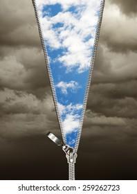 zipper in the sky