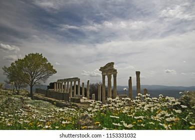zmir / bergama acropolis ancient city