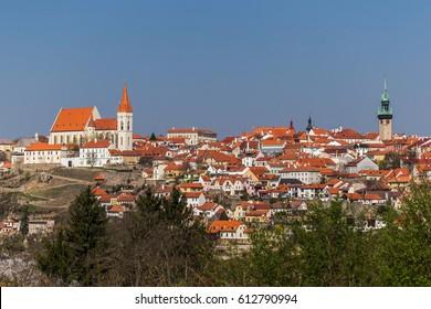 Znojmo, historic town in Czech Republic