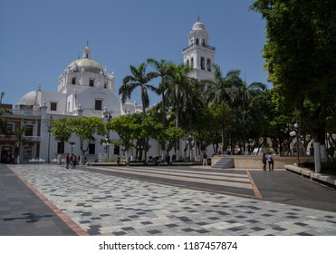 Zocalo of Veracruz in Mexico