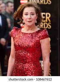 Zoe Wanamaker arrives for the Olivier Awards 2012 at the Royal Opera House, Covent Garden, London. 15/04/2012 Picture by: Simon Burchell / Featureflash