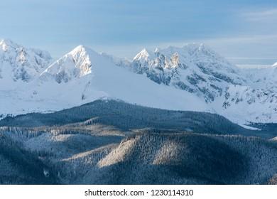 Zolta Turnia Mountain, Koscielec Mountain, Swinica Mountain, Tatra Mountains, Tatra National Park