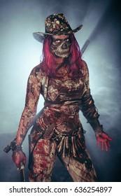 The zombie apocalypse. Zombie Killer.