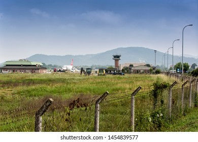 Zonguldak, Turkey- 06/04/2019: Zonguldak Airport in Caycuma, Zonguldak, Turkey