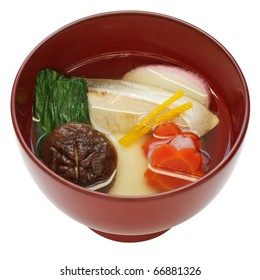 zoni , japanese rice cake soup , new year's ceremonial cuisine