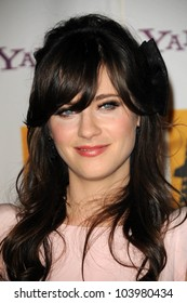 Zooey Deschanel  at the 13th Annual Hollywood Awards Gala. Beverly Hills Hotel, Beverly Hills, CA. 10-26-09