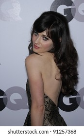"""Zooey Deschanel at the 16th Annual GQ """"Men Of The Year"""" Celebration, Chateau Marmont, Los Angeles, CA 11-17-11"""