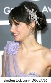 Zooey Deschanel at the 51st Annual GRAMMY Awards. Staples Center, Los Angeles, CA. 02-08-09
