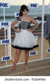 Zooey Deschanel at the FOX All Star Party 2011, Gladstones, Malibu, CA. 08-05-11