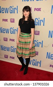 "Zooey Deschanel at the ""New Girl"" Special Screening And Q&A, Leonard H. Goldenson Theatre, North Hollywood, CA 04-30-13"