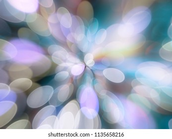Zooming blurred abstract bright colourful lights abstract shiny background