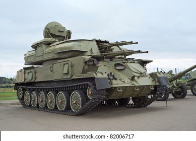 ZSU-23-4 Shilka anti-air weapon system