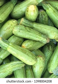 zucchini harvest for food textures