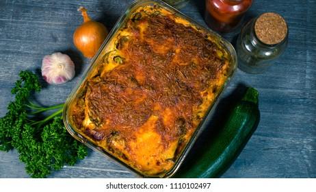 Zucchini Lasagna low carb 2