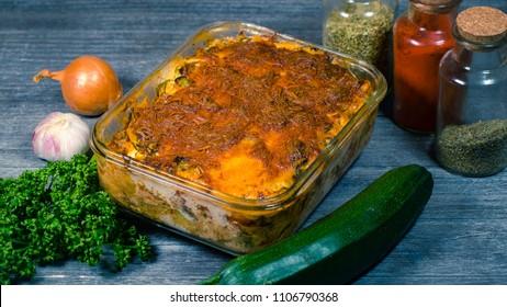 Zucchini Lasagna low carb