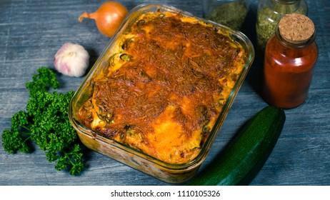 Zucchini Lasagna low carb 3