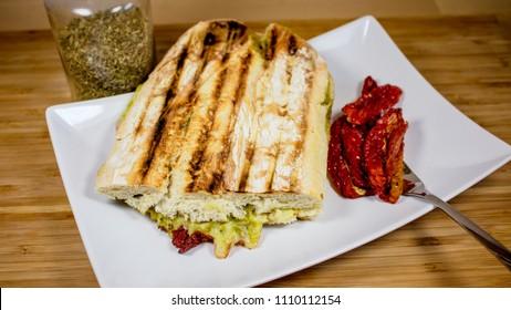Zucchini Pannini Bread