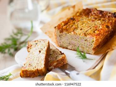 Zucchini and Turkey Ham Terrine