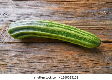 zucchini vegetable on wooden board table
