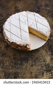 Zuger Kirschtorte - Swiss cherry cake