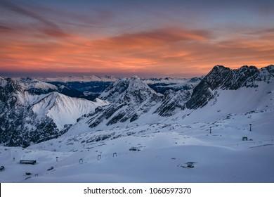 Zugspitze in Bavaria