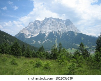 The Zugspitze is the highest mountain peak in Germany.