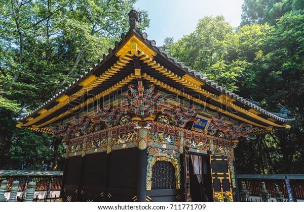 The Zuihoden of the Masamune Date mausoleum  in Sendai city, Japan