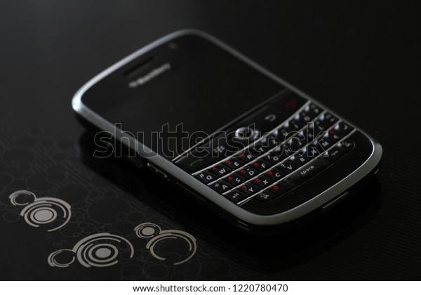 Zurich Ch October 28 2018 Blackberry Stock Photo (Edit Now