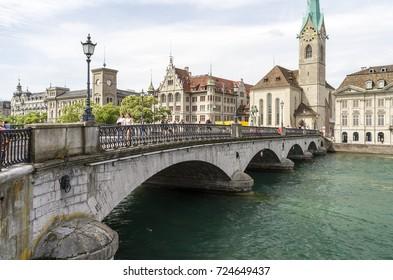 Zurich, Historic city of Switzerland