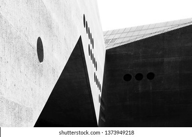Zurich, Switzerland - April 29, 2018: Architecture details of Swiss National Museum in Zurich, Switzerland. This museum is one of the most most important art museums of cultural history in Europe.