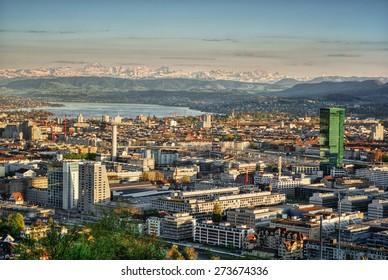 Zurich (Switzerland), HDR-technique