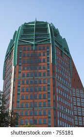 The Zurich tower in the Hague, near the central station