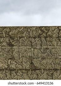 zurriola wall, donostia