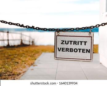No Entry – Seitensprung Verboten!