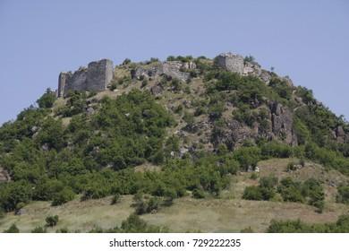 Zvecan fortress near North Mitrovica, Kosovo