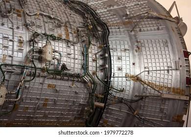 Zvyozdny gorodok (Star City), Moscow Oblast, Russia - 22 May 2021: Yuri Gagarin Cosmonaut Training Center (GCTC), International Space Station (ISS)