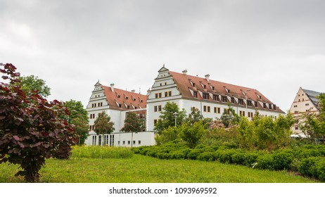 Zwickau castle Osterstein and park