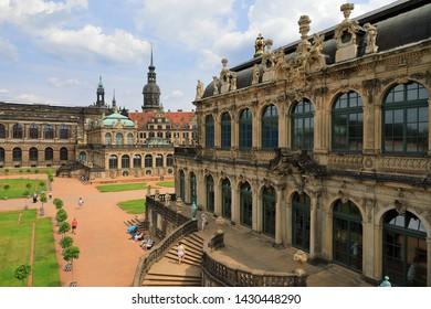 Zwinger Palace, Dresden, Saxony (Sachsen), Germany (Deutschland)