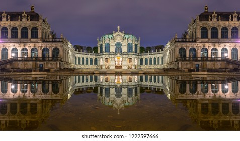 The Zwinger is a palace in the German city of Dresden