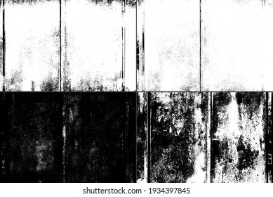 Texture of old rusty grungy metal sheet. Uneven aged rough bumpy surface. Corrugated painted wall of smudged iron. Rusted hard pitted retro garage door. Vintage dirty destroyed roof for grunge design