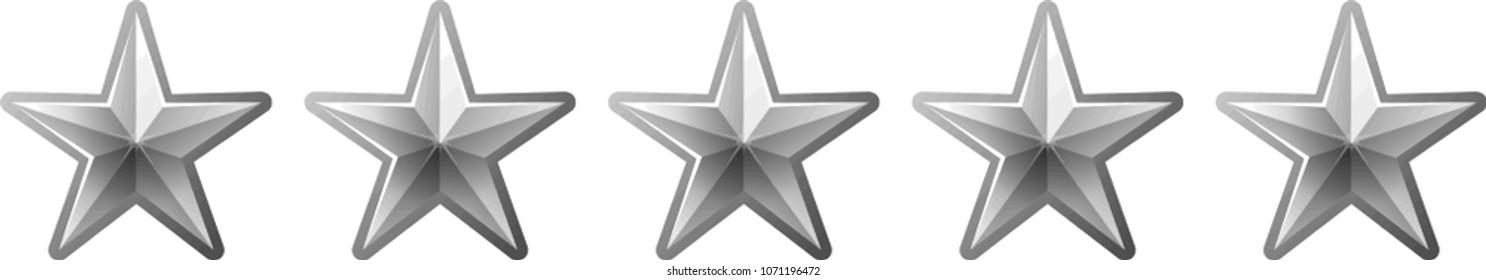 0 Luxury star rating bar