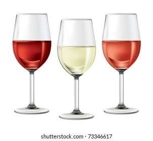 01A4NCY4 Wine Glass and Wine Bottle