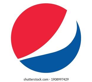 İstanbul, Türkiye - 02.03.2021: Pepsi logo